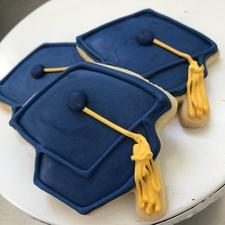Graduation Cap Cookie